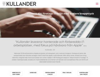 kullander.se screenshot