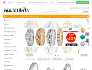 kultatahti.fi screenshot