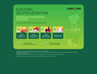 kultbezp.ciop.pl screenshot