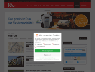 kultur-kl.de screenshot