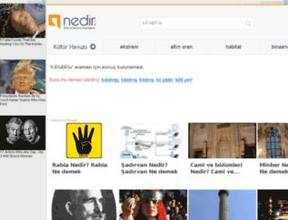 kultur.nedir.com screenshot