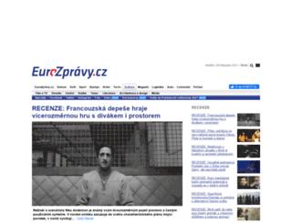kultura.eurozpravy.cz screenshot