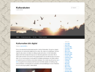 kulturakuten.nu screenshot