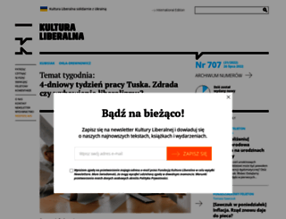 kulturaliberalna.pl screenshot