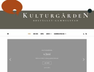 kulturgarden.se screenshot
