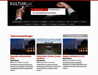 kulturpur.de screenshot