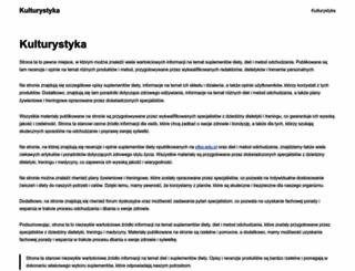 kulturystyka.org.pl screenshot