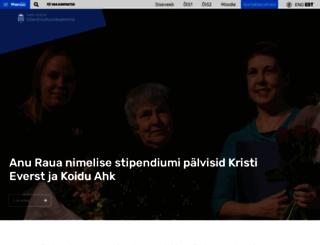 kultuur.ut.ee screenshot