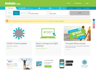 kulula-air.com screenshot