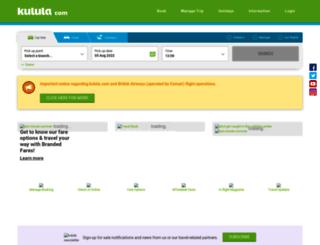 kulula.com screenshot