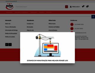 kuma.com.br screenshot