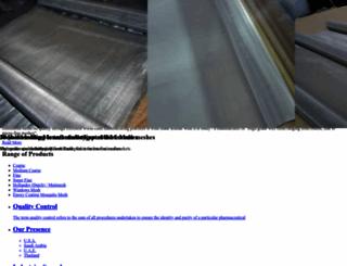 kumarwiremesh.com screenshot