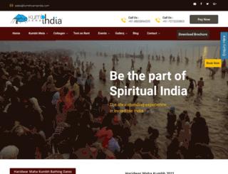 kumbhcampindia.com screenshot