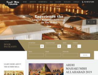 kumbhmelatours.com screenshot
