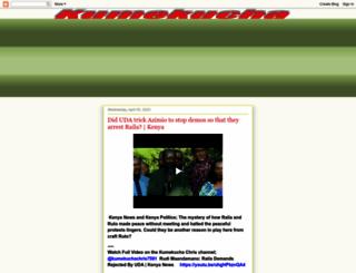 kumekucha.blogspot.com screenshot