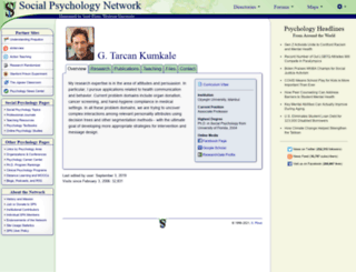 kumkale.socialpsychology.org screenshot