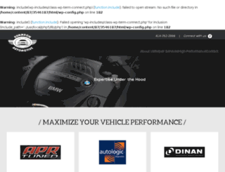 kummrowautomotive.com screenshot