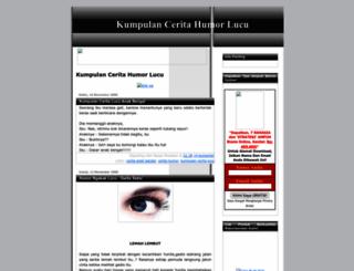 kumpulanceritahumorlucu.blogspot.com screenshot