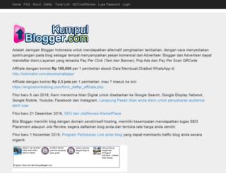 kumpulblogger.com screenshot