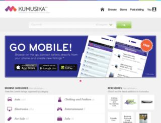 kumusika.co.zw screenshot