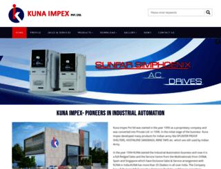 kunaimpex.com screenshot