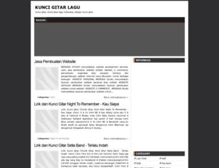 kuncigitarlaguu.blogspot.com screenshot