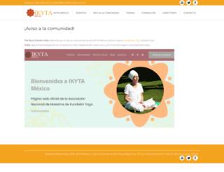 kundaliniyoga.com.mx screenshot