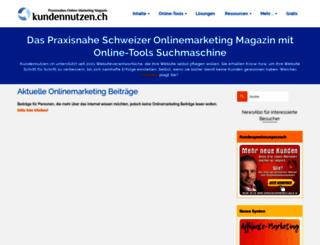 kundennutzen.ch screenshot