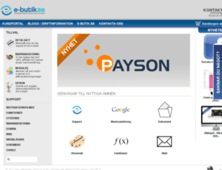 kundportal.e-butik.se screenshot