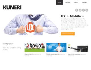 kuneri.org screenshot