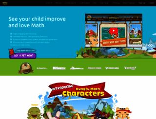 kungfu-math.com screenshot
