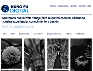 kungfudigital.com screenshot