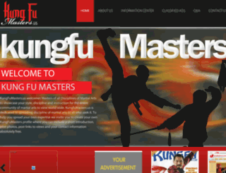 kungfumasters.us screenshot