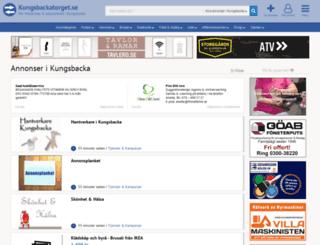 kungsbackatorget.se screenshot