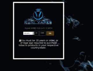 kunivapes.com screenshot