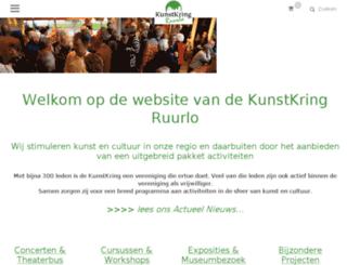 kunstkring.clickhost.nl screenshot