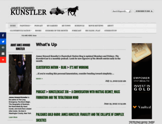 kunstler.com screenshot