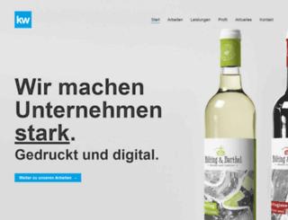 kunstwerk-design.de screenshot