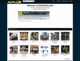 kuntham.com screenshot