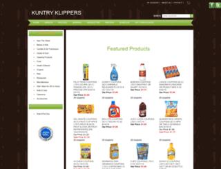 kuntryklippers.com screenshot