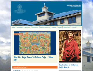 kunzang.org screenshot