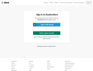 kuobrothers.slack.com screenshot