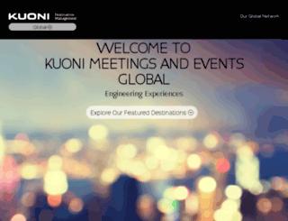 kuoni-incoming.com screenshot