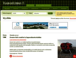 kuopionkirppari.fi screenshot