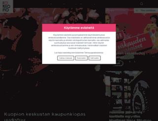 kuopiontori.com screenshot