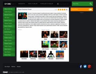 kupacanavarifener.oyunu.net screenshot