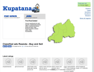 kupatana.co.rw screenshot
