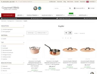 kupfertopf.com screenshot