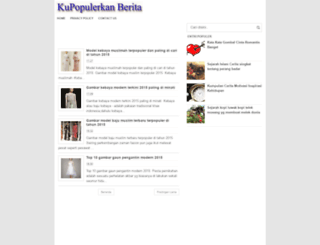 kupopulerkan.blogspot.com screenshot