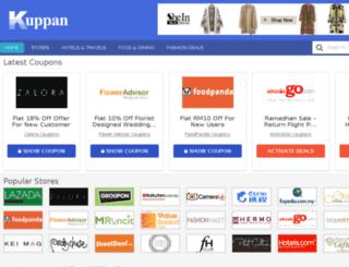 kuppan.com screenshot